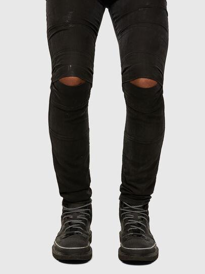 Diesel - D-Strukt JoggJeans® 009GH, Schwarz/Dunkelgrau - Jeans - Image 5