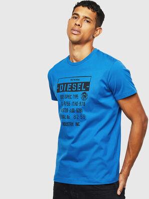 T-DIEGO-S1, Blau - T-Shirts