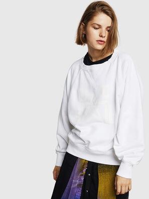 F-HENNY-D, Weiß - Sweatshirts