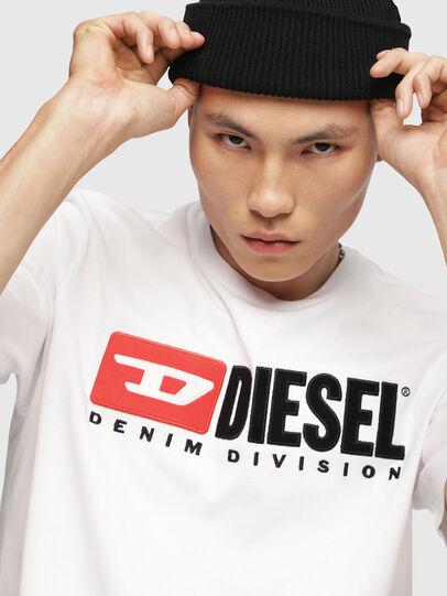 Diesel - T-JUST-DIVISION, Weiß - T-Shirts - Image 3