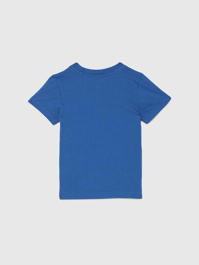 Diesel - TJUSTLOGOB-R, Blau - T-Shirts und Tops - Image 2