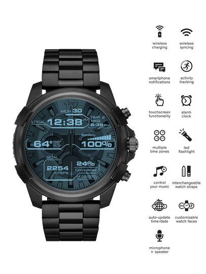 Diesel - DT2007, Schwarz - Smartwatches - Image 1