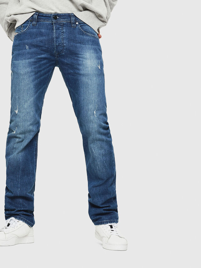 Diesel - Safado C84KY, Mittelblau - Jeans - Image 1