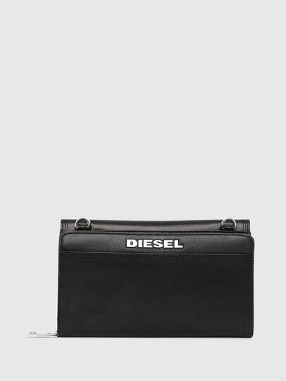 Diesel - DUPLET LCLT, Schwarz - Portemonnaies Zip-Around - Image 2