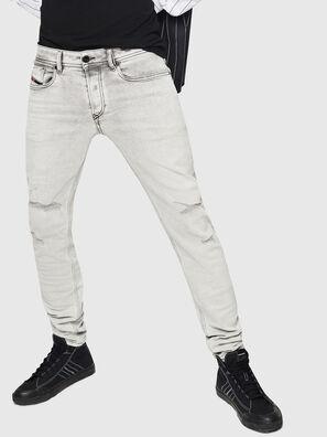 Sleenker 0090F, Hellgrau - Jeans
