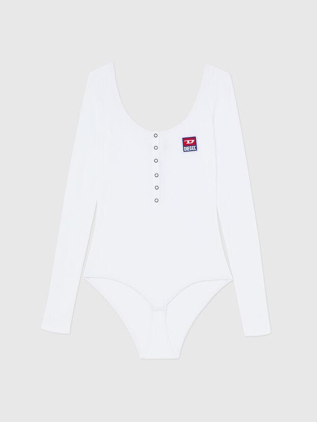 UFBY-BODYBUT-LS-C, Weiß - Bodys