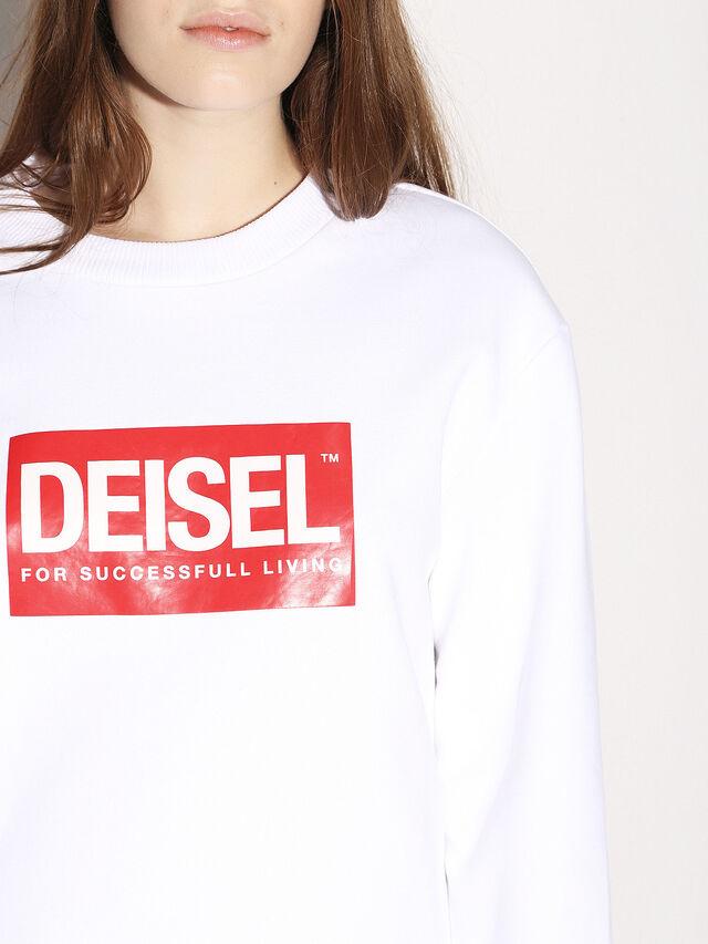 Diesel - DEIS-SGIRO, Weiß - Sweatshirts - Image 8