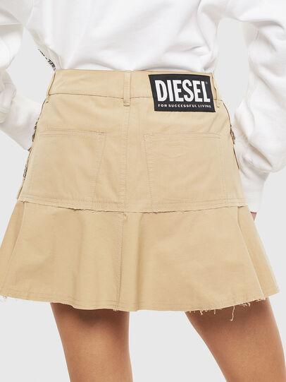 Diesel - O-BETH, Beige - Röcke - Image 2