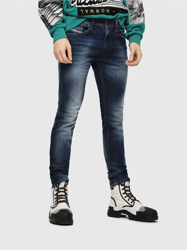 Diesel - Thommer 084GR, Mittelblau - Jeans - Image 1