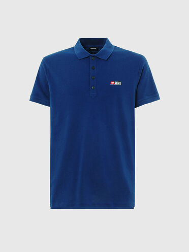 Poloshirt aus Baumwollpiqué mit kombinierten Logos