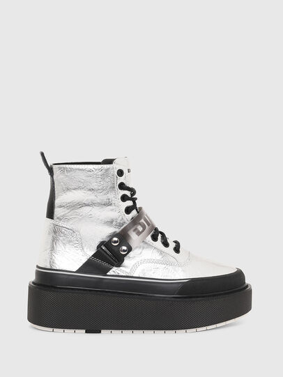 Diesel - H-SCIROCCO STRAP, Silber - Sneakers - Image 1