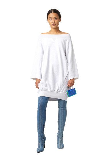 Sweatshirt-Kokon-Kleid