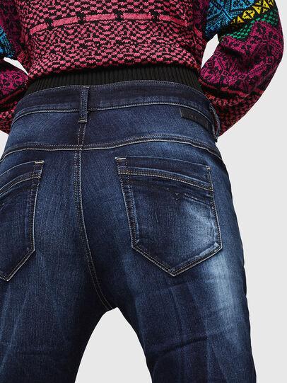 Diesel - Fayza JoggJeans 069IE, Dunkelblau - Jeans - Image 4