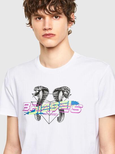Diesel - T-DIEGOS-E35, Weiß - T-Shirts - Image 3