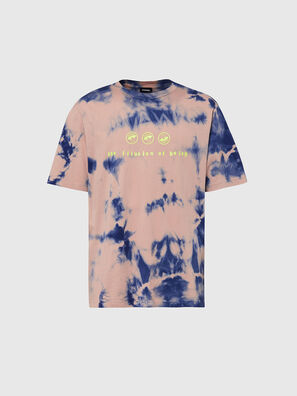 T-JUST-SLITS-X86, Rosa/Blau - T-Shirts