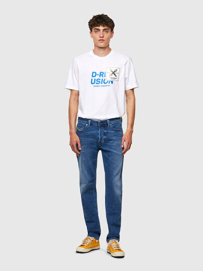 Diesel - Larkee-Beex 0097X, Mittelblau - Jeans - Image 5