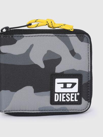 Diesel - ZIPPY HIRESH S II, Grau/Schwarz - Portemonnaies Zip-Around - Image 4