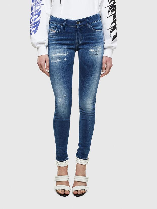Slandy 009IG, Mittelblau - Jeans