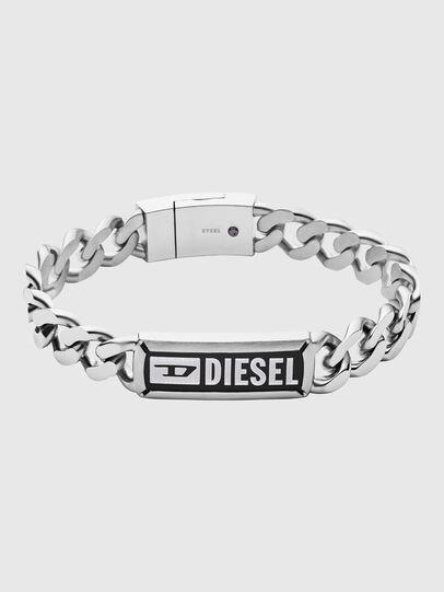 Diesel - DX1243, Silber - Armbänder - Image 1