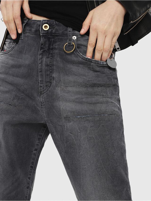 Diesel - Candys JoggJeans 069EP, Schwarz/Dunkelgrau - Jeans - Image 3