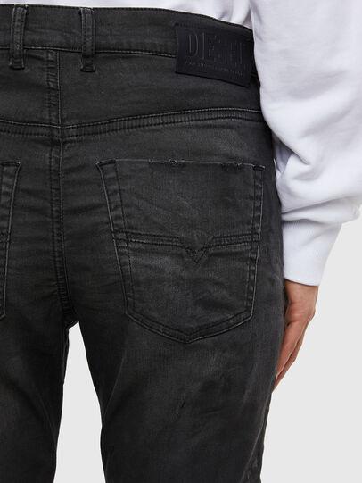 Diesel - KRAILEY JoggJeans® 069QL, Schwarz/Dunkelgrau - Jeans - Image 5