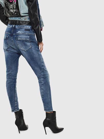 Diesel - Fayza JoggJeans 0096M, Dunkelblau - Jeans - Image 2