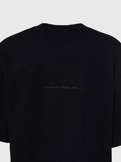Diesel - T-BALL-X1, Schwarz - T-Shirts - Image 4