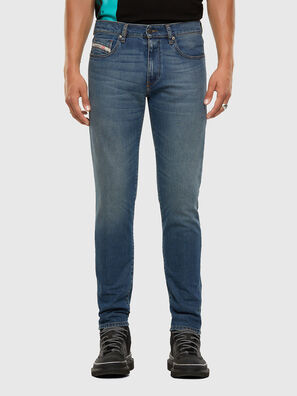D-Strukt 009EI, Mittelblau - Jeans
