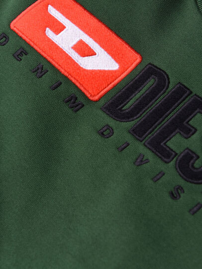 Diesel - SCREWDIVISION OVER, Flaschengrün - Sweatshirts - Image 3