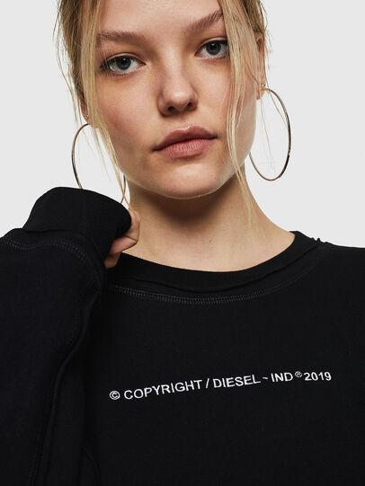 Diesel - F-LYANY-F, Schwarz - Sweatshirts - Image 5