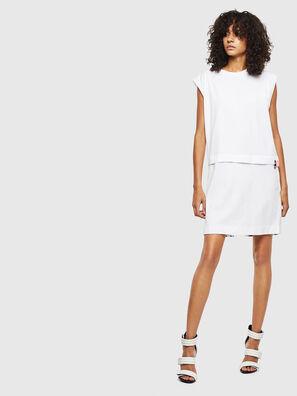 D-HATTER, Weiß - Kleider