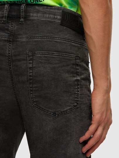 Diesel - D-VIDER JoggJeans® 009FZ, Schwarz/Dunkelgrau - Jeans - Image 4