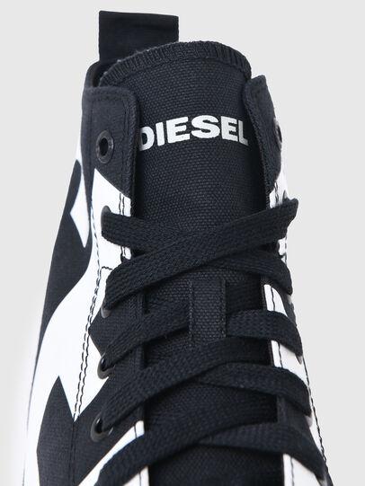 Diesel - S-ASTICO MID CUT, Schwarz/Weiss - Sneakers - Image 4