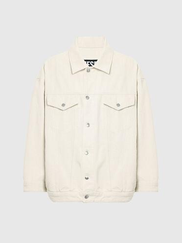 Stonewash-Jacke aus Denim aus 100% Baumwolle