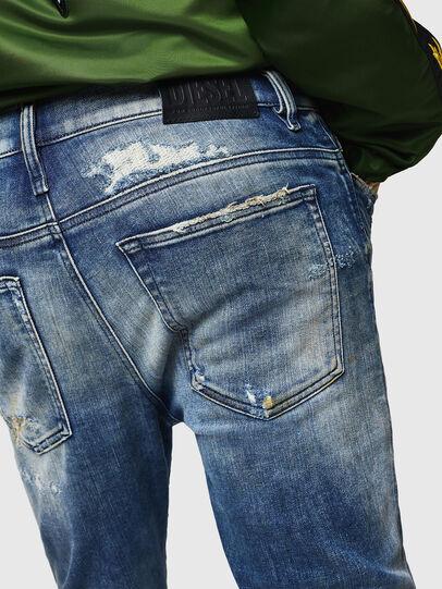 Diesel - D-Reeft JoggJeans 0870Q, Mittelblau - Jeans - Image 5