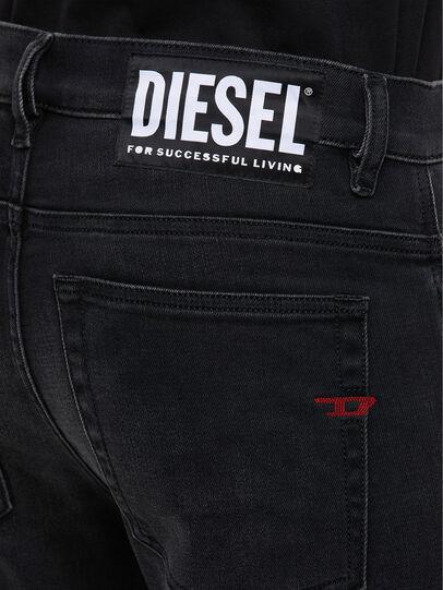 Diesel - D-Amny 009KS, Schwarz/Dunkelgrau - Jeans - Image 5