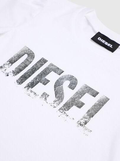 Diesel - TRALLYB-R, Weiß - T-Shirts und Tops - Image 3