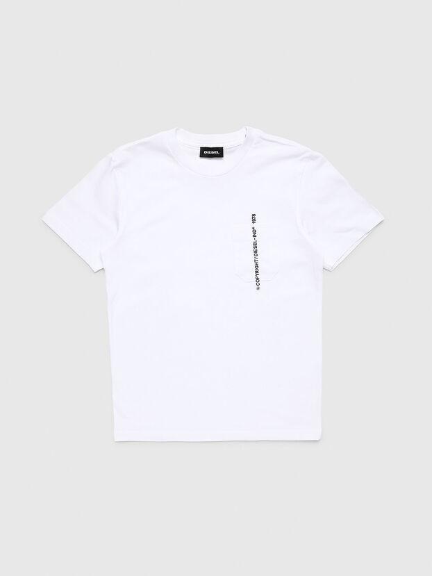 TJUSTPOCKETCOPY, Weiß - T-Shirts und Tops