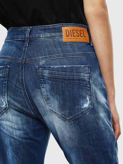Diesel - Fayza JoggJeans 0099S, Dunkelblau - Jeans - Image 5