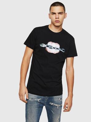 T-DIEGO-B10, Schwarz - T-Shirts