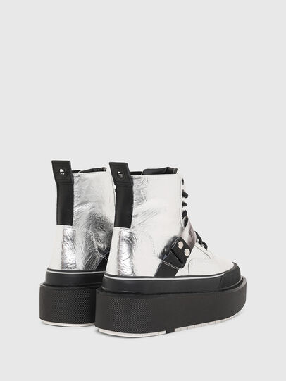 Diesel - H-SCIROCCO STRAP, Silber - Sneakers - Image 3