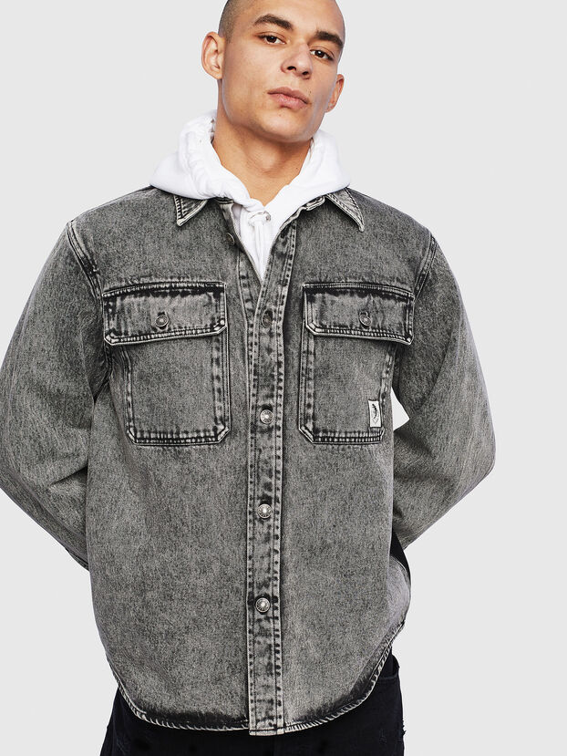 S-JESSY-A, Schwarz - Hemden