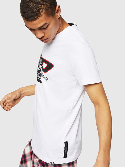 Diesel - PS-T-DIEGO-OCTOSKULL,  - T-Shirts - Image 5