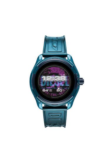 Diesel On Fadelite Smartwatch – Transparentes Blau