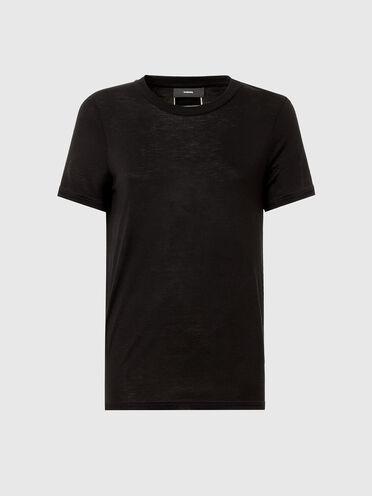 T-Shirt aus Bambusviskose