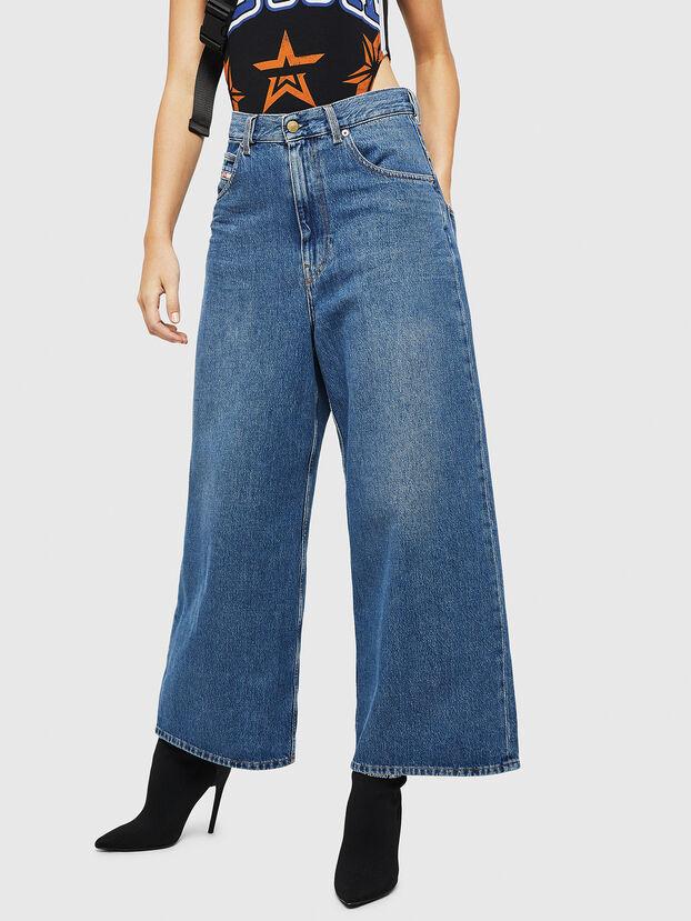 D-Luite 080AN, Mittelblau - Jeans