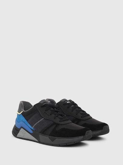Diesel - S-BRENTHA FLOW, Schwarz/Blau - Sneakers - Image 2