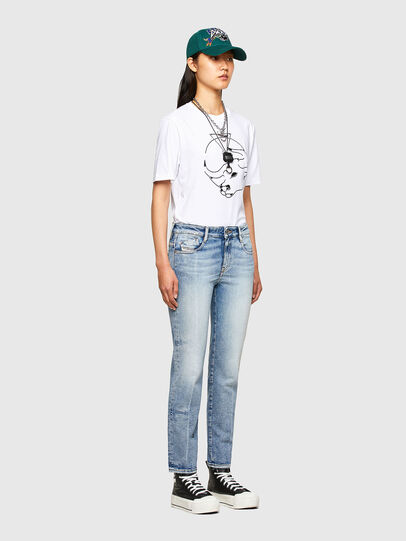 Diesel - CL-T-JUST-O, Weiß - T-Shirts - Image 8