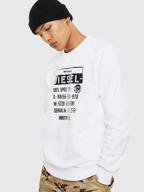 S-GIRK-S3, Weiß - Sweatshirts