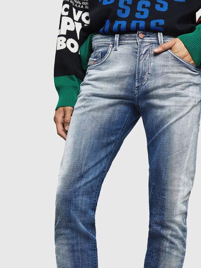 Diesel - Thommer JoggJeans 0870N, Mittelblau - Jeans - Image 3